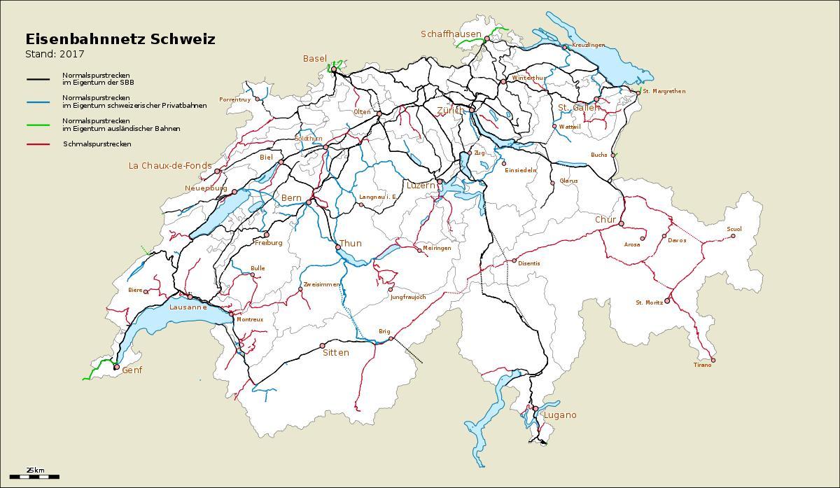 Svajc Port Map Terkep Svajc Portok Nyugat Europaban Europa